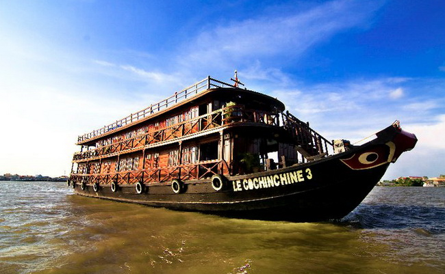 Le cochinchine cruise mekong river